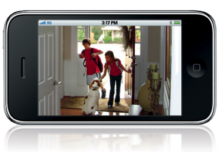 HOME SECURITY VIDEO CAMERA MONITORING