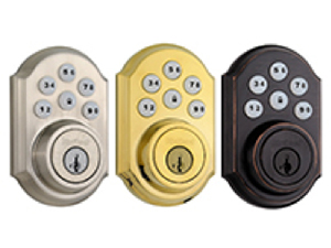 SmartCode Deadbolt Door Lock with Z Wave Technology